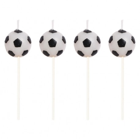 BOUGIES BALLON DE FOOTBALL