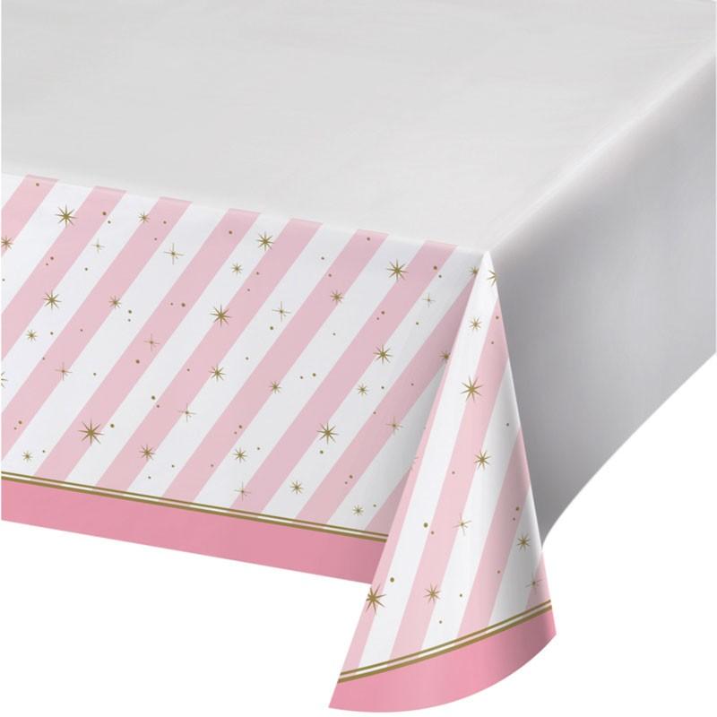 nappe en plastique girly pour anniversaire d 39 instant eph m re. Black Bedroom Furniture Sets. Home Design Ideas
